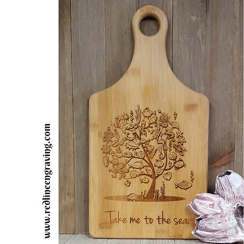 See Tree of Life- Bamboo Cutting Board