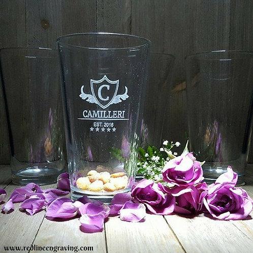 Set of 4 Pint Mixing Glasses
