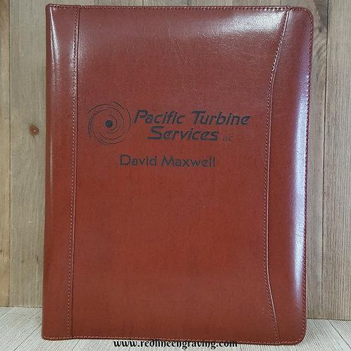 Brown Leather Portfolio