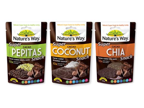 Nature's Way Pepitas Packaging