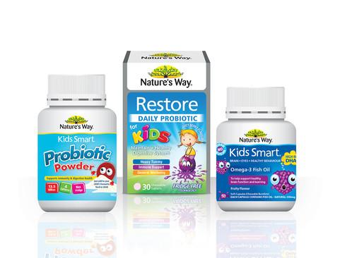 Nature's Way Kids Packaging