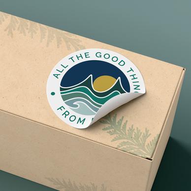 Sticker Design, part of Brand Identity Package