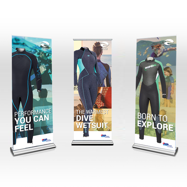 Roll Up Banner for retail shop