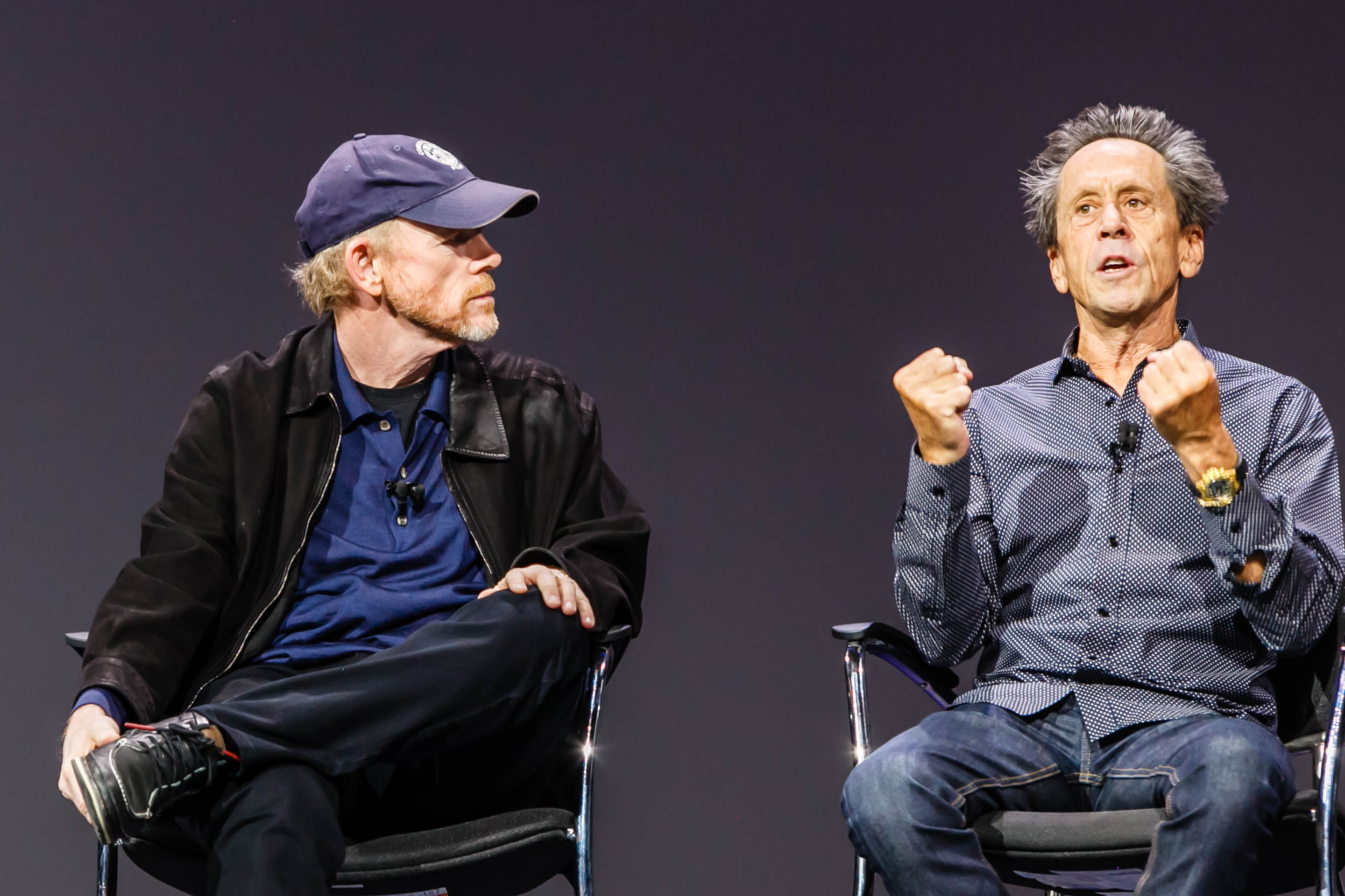 20151028093558 6228 IBM INSIGHT 2015 WED GENERAL SESSION JASON SILVA BRIAN GRAZER RON HOWARD