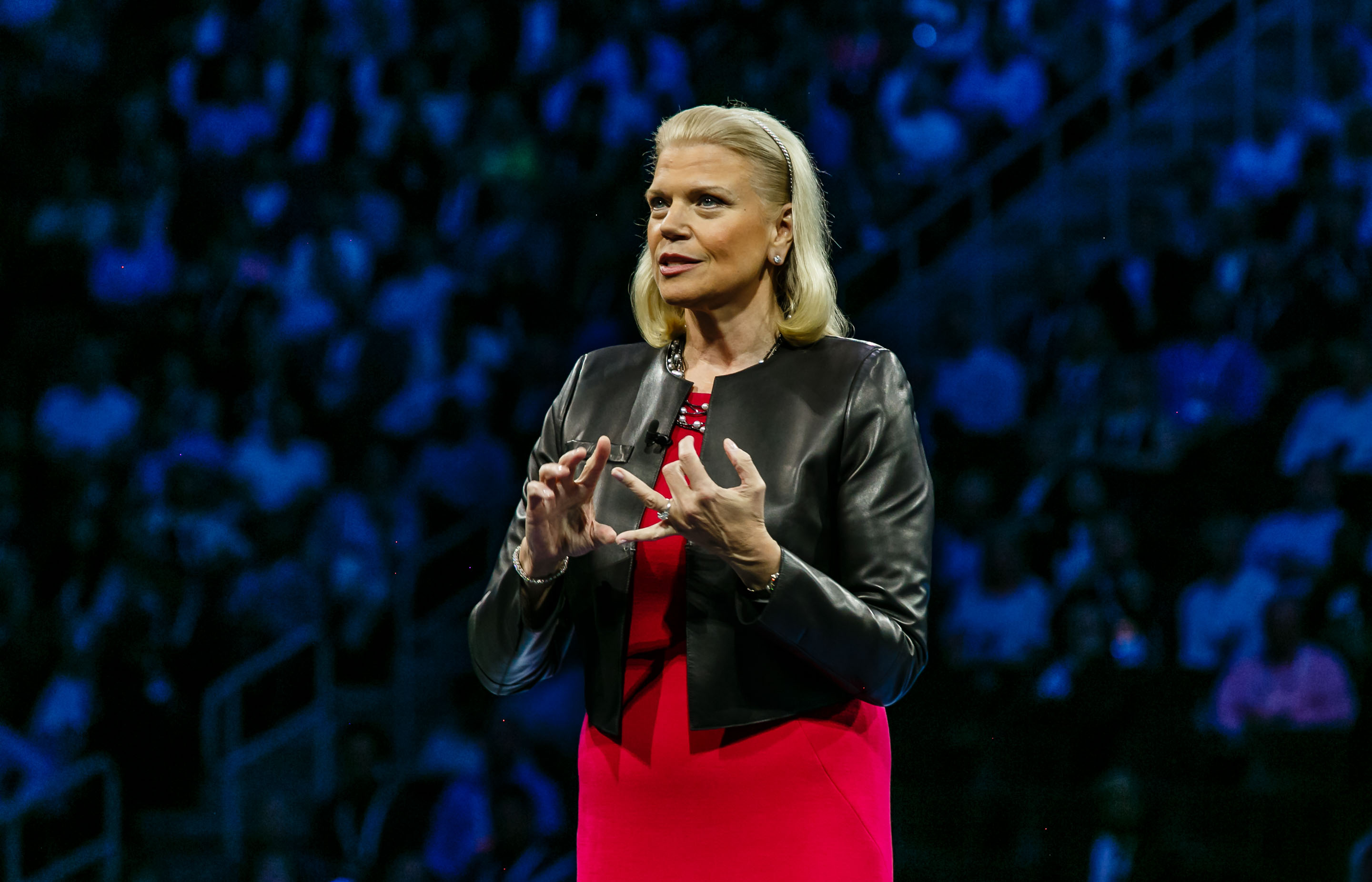 20161026131109 7858 IBM WOW 2016 GINNI ROMETTY KEYNOTE GINNI ROMETTI