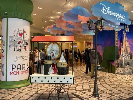 ディズニーストアがパリの有名百貨店に登場!