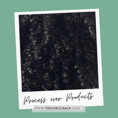 """Process over Products - After the """"Curl Makeover"""""""