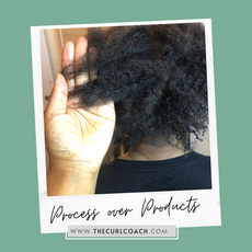 """Process over Products - Before the """"Curl Makeover"""""""