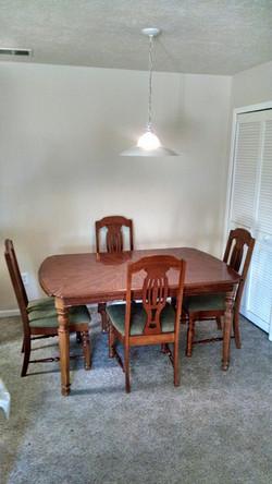 Apartment Dining Room Area
