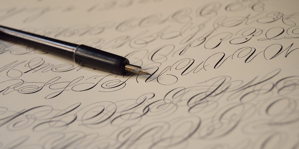 Cours de calligraphie - Hebdomadaire