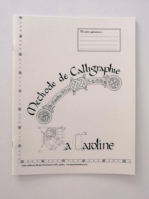 Cahier de méthode de calligraphie