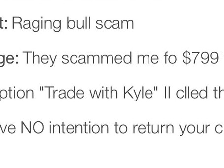 Testimonials, comments and reviews - Kyle Dennis and his Trade with Kyle scam