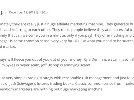 Testimonials, comments and reviews