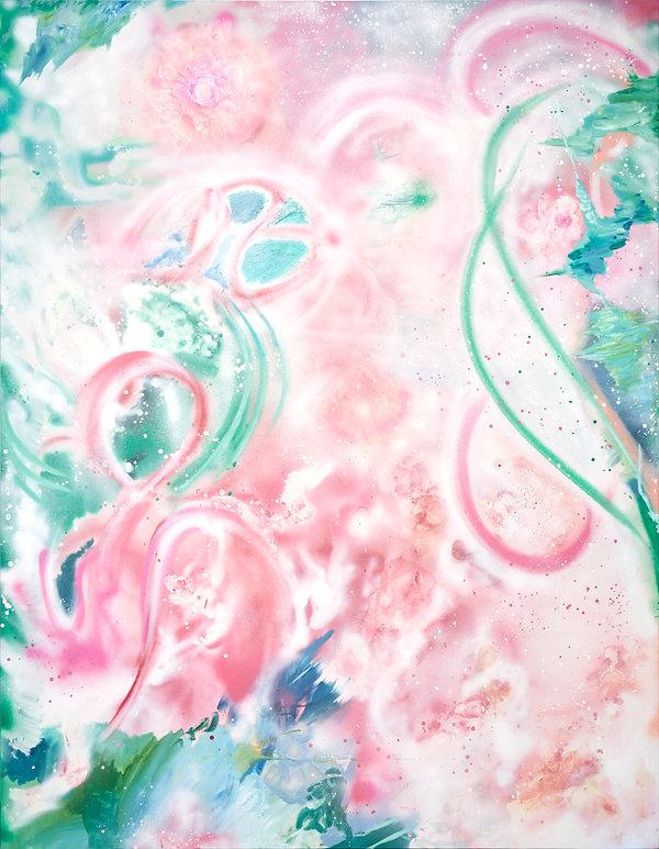 Joanne chan artist Pink joannechan love spiritual work