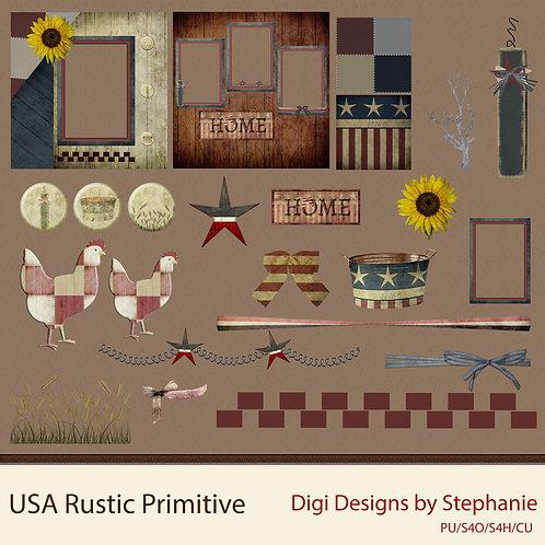 USA Rustic Primitive