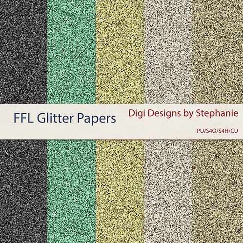 FFL-Glitter Papers Pack