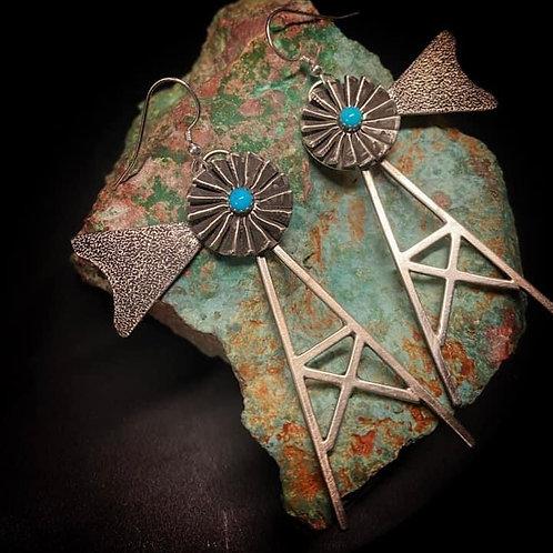 Windmill Earrings