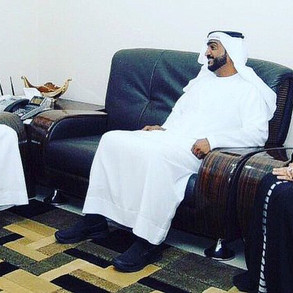 Meeting of the Director of the College of Islamic and Arabic Studies in Dubai