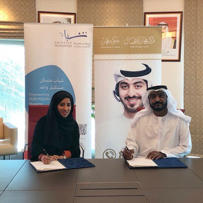 Agreement with the Emirates Youth Foundation
