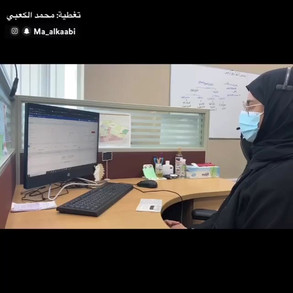 Emirati journalist, writer and broadcaster Mohammed Al Kaabi covered the Ajman Call Center in Masfoot