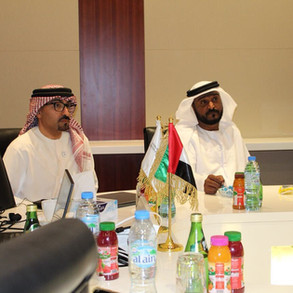 The visit of the work team to the Abu Dhabi call center