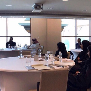 Meeting with Ajman Contact Center coordinators