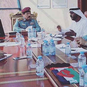 Ajman Contact Center meeting with Brigadier General Muhammad Alwan