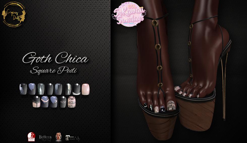 Gorgeous Dolls - Goth Chica ( Peddie Cla