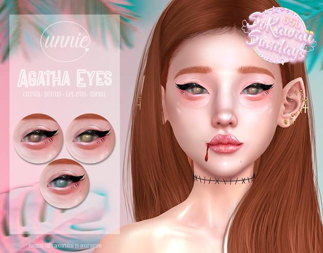 Unnie - Agatha Eyes AD