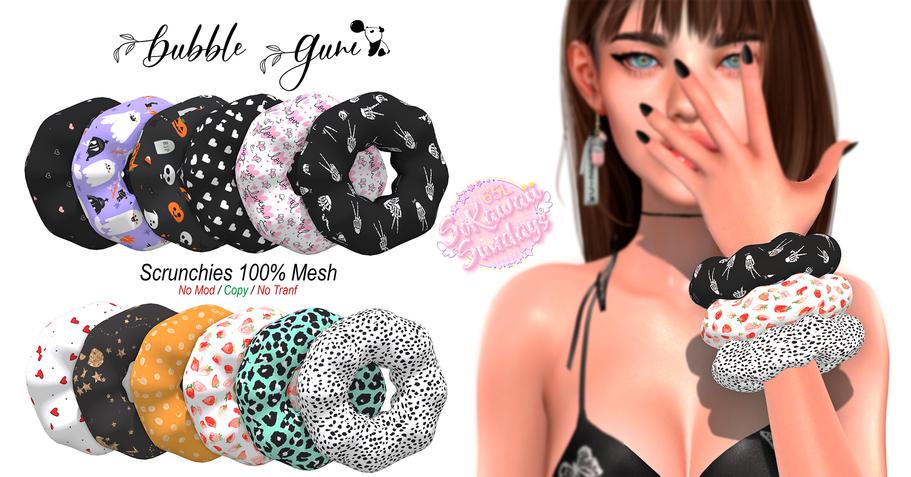 Bubble Gum Store - Scrunchie