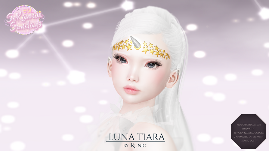 Runic - Luna Tiara