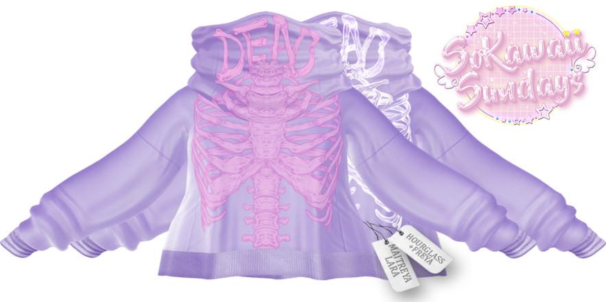 CURELESS - cutout lilac AD