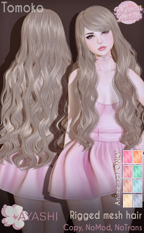 Ayashi - Tomoko Hair