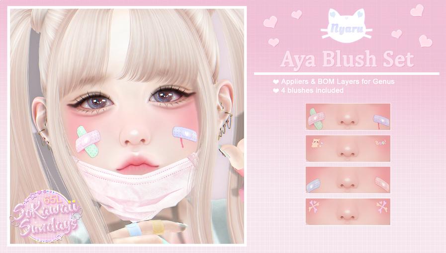 Nyaru - Aya Blush Set AD