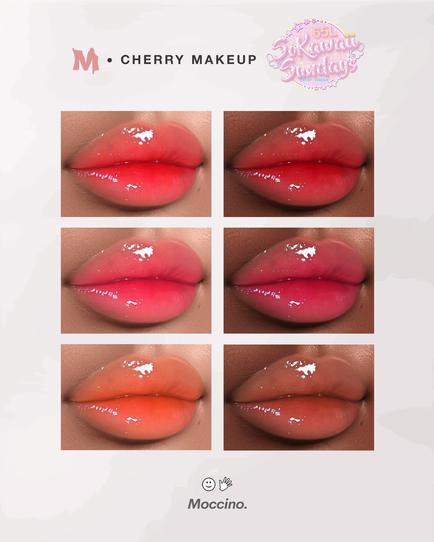 Moccino Beaute - Cherry Makeup (SoKawaii