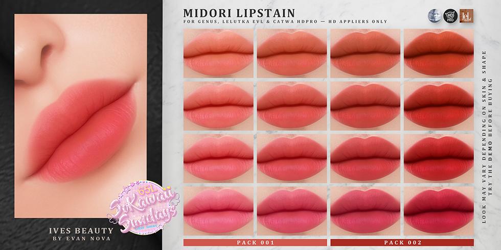 IVES Beauty - Midori Lipstain (SoKawaiiS