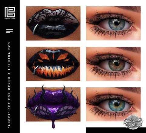 Beaumore - Angel Makeup Set