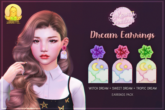 Banana Peel - Dream Earrings
