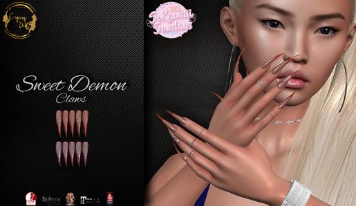 Gorgeous Dolls - Sweet Demon Claws