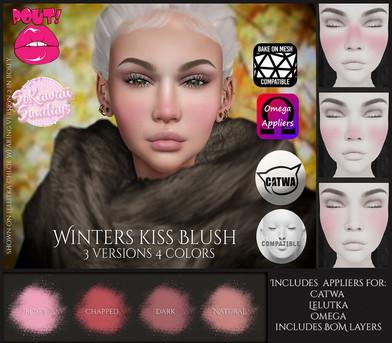 [POUT!] - Winters kiss Makeup (SoKawaiiS