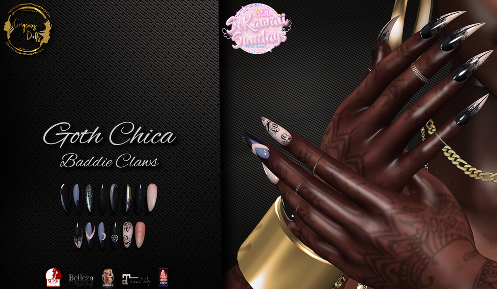 Gorgeous Dolls - Goth Chica ( Baddie Cla