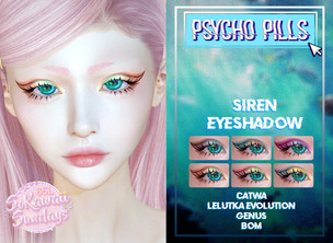 Psycho Pills - Siren Eyeshadow