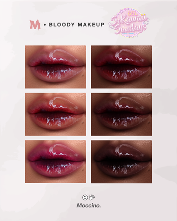 Moccino_Beaute - Bloody Makeup