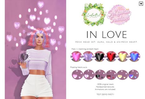 LuLuB! - In LOVE Aura, Halo and Animesh