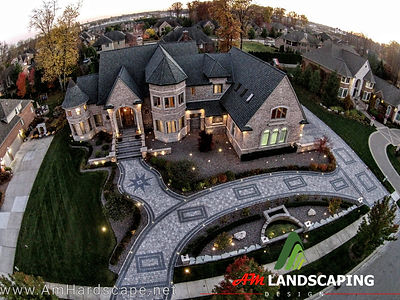 Am Landscaping offers Brick paver Outdoor elements, walkways,driveways,patios,serving macomb,michigan,landscaping ideas,