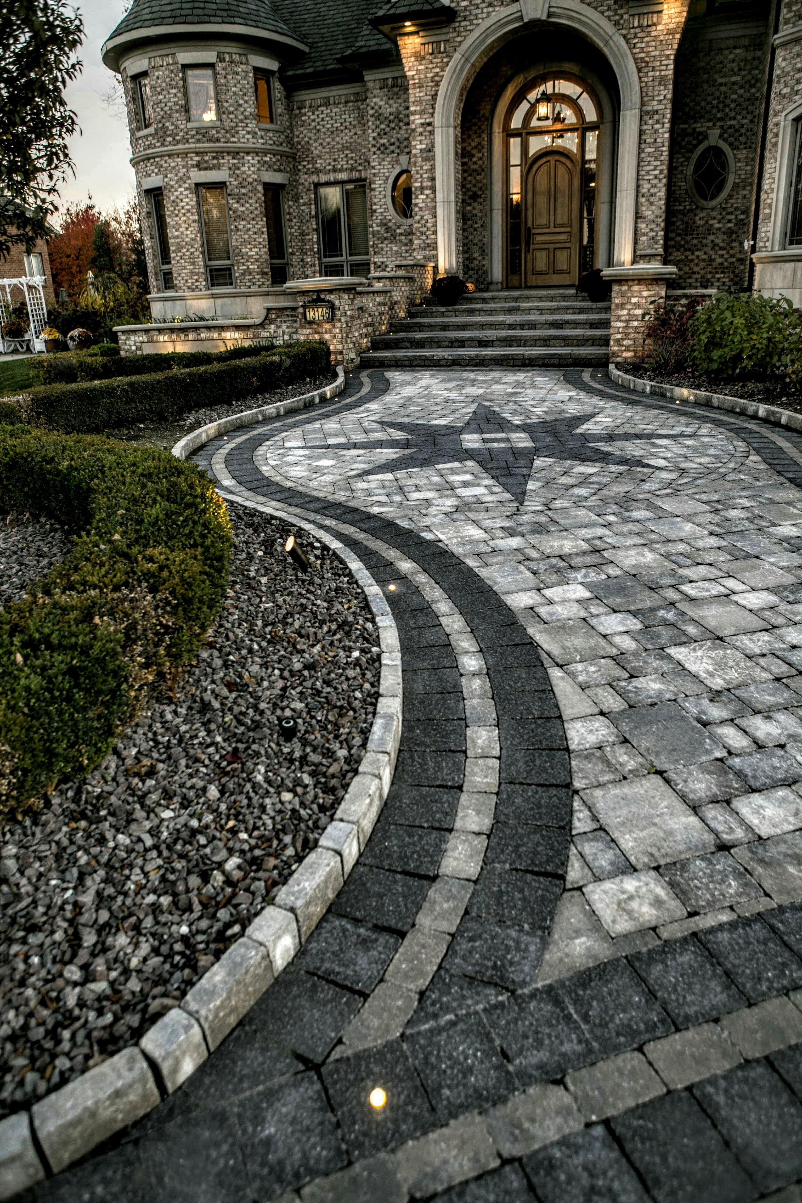 Brick Paver Walkway