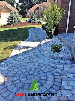 Brick Paver Walkway Design