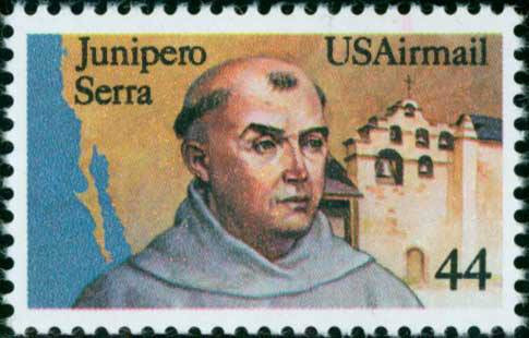 Saint Junipero Serra                     Canonized September 23, 2015