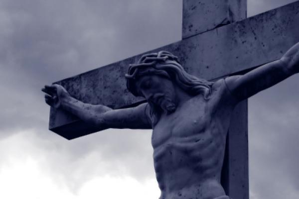 Jesus on marble cross.jpg