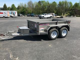 New Half-Ton Truck Dump Trailer